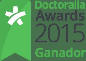 Doctoralia Awards 2015 ganadora Marisa Caban en Fisioterapia